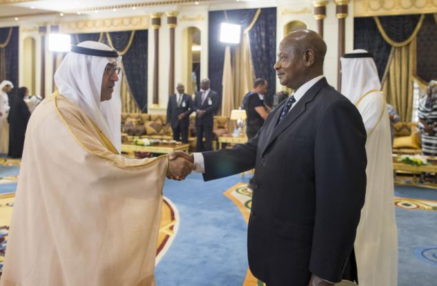 ... President Museveni in the United Arab Emirates 2014 ...