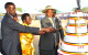 President Yoweri Museveni, Pader woman MP Lowila CD Oketayot (IN YELLOW)  her hu