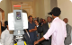 Presidents Museveni and Afewerki tour the Mapping Centre near Asmara