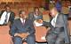 Buganda's PM Walusimbi on the left
