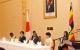 (L-R)First Lady Janet Museveni,Prince Akishino,President Museveni and Princess K