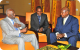 President Museveni with Angola's President Dos Santos at the African Union Meeti