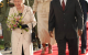 President Museveni, Queen Elizabeth, Prince Phillip and First Lady Janet walk on