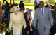 Queen Elizabeth II and President Museveni arrive for CHOGM Kampala