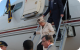 Queen Elizabeth II and Prince Phillip arrive at Entebbe Airport