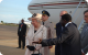 Chief of Protocol Ahmed Ssenyonyo receives Queen Elizabeth