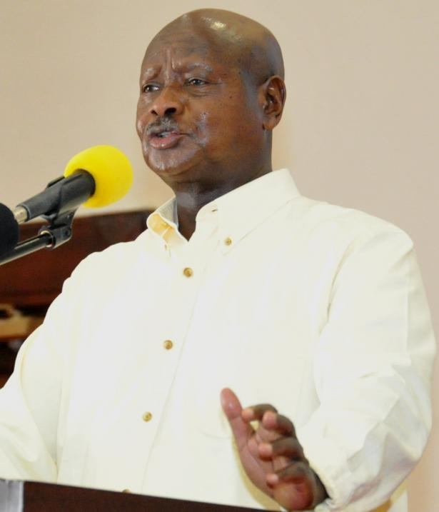 President Museveni addresses Busoga leaders on poverty