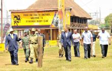 President Museveni tours sites of the July 11 2010 terrorist bomb blasts - PPU