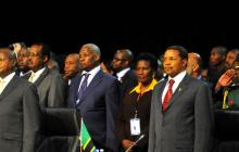 2nd COMESA-EAC-SADC Tripartite Summit 2007 opened in Johannesburg SA