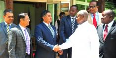 President Museveni meets with the investors