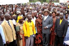 Over 160 FDC supporters cross to NRM