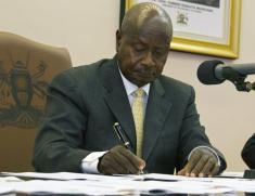 Presidential Statements - Uganda
