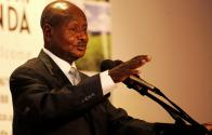 President Museveni addressing the Parliament on the Oil Debate - State House